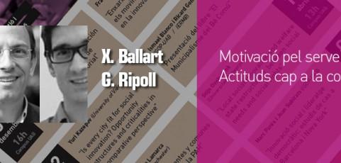 Seminari Xavier Ballart i Guillem Ripoll – 17 octubre