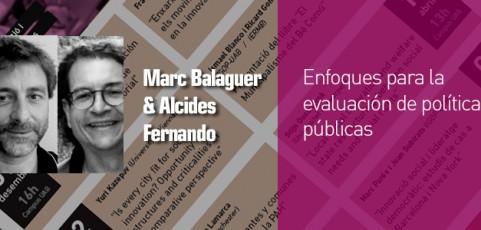 Seminari Marc Balaguer & Alcides Fernando Gussi – 4 desembre 12h
