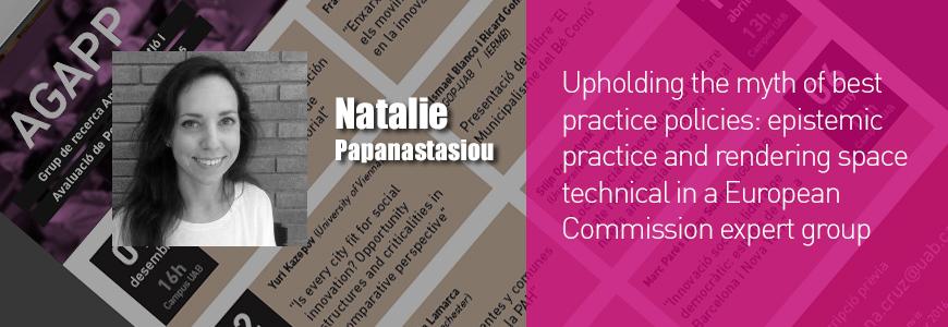 Natalie Papanastasiou Seminar