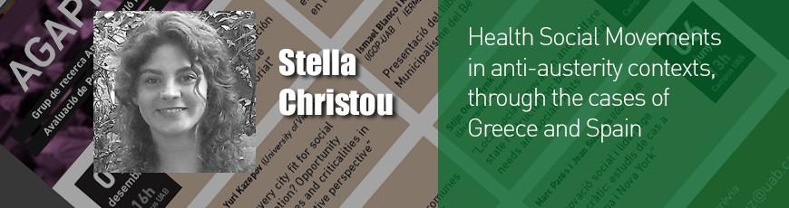 Seminari Stella Christou 22 maig 13h