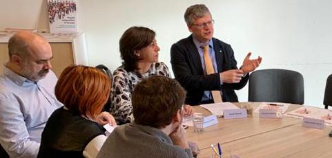 Margarita León convidada a seminari d'experts a Brussel·les