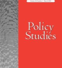 Artículo en la Revista Policy Studies